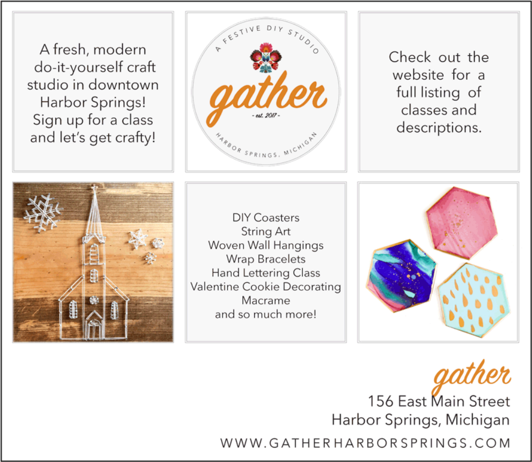 Gather com a fresh modern do it yourself craft studio in downtown harbor springs sign up for a class and lets get crafty gather 156 east main street harbor solutioingenieria Gallery