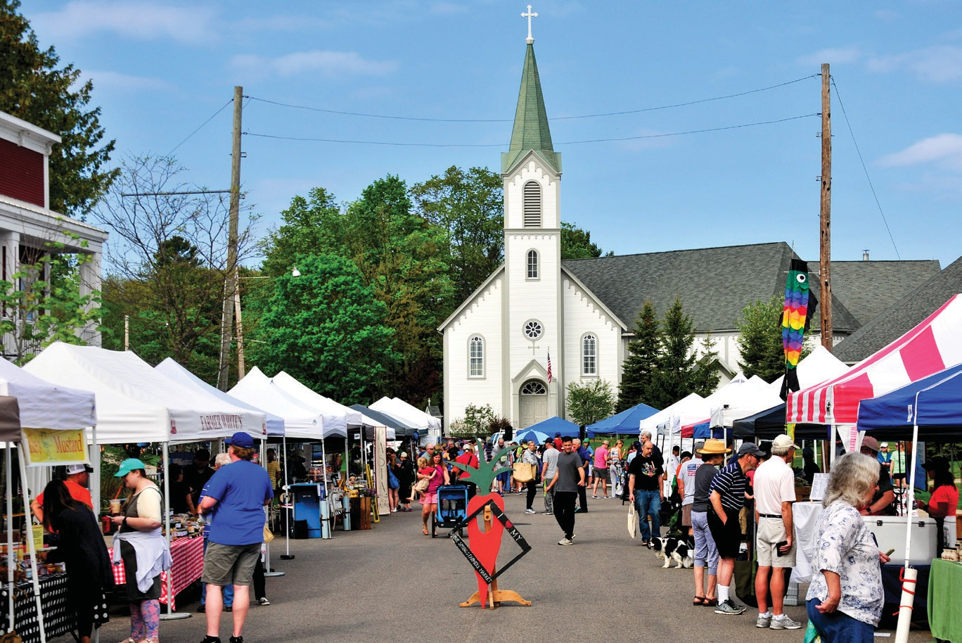 Farmers Market Set To Open 10th Season At Downtown Harbor Springs Location