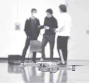 Drone technology classes have become increasingly popular at Harbor Springs High School. The class has been offered for the last four years and continues to expand in scope and future career opportunities. (Courtesy photo)